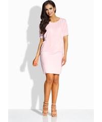 521bed31a4c Dámské šaty Lemoniade L206 světle růžové