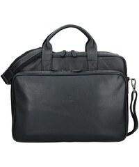 f1d6bc1ad3 Pánská kožená taška přes rameno Hexagona 463086 - černá