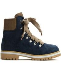 ca20ca602fc Dámské tmavě modré kotníkové boty Trey 9092