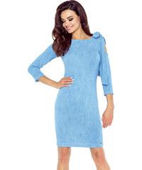 c01f97f660d Bergamo Světle modré šaty Chica