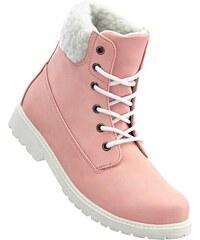 bpc bonprix collection Bonprix - Boots à lacets rose pour femme
