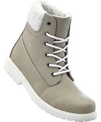bpc bonprix collection Bonprix - Boots à lacets gris pour femme