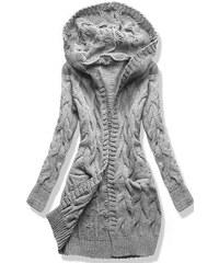 MODOVO Dámský svetr SWDWK01 šedý 396273b143