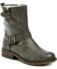 826440d458f Mustang 1264-602-20 šedé dámské nadměrné zimní boty - Glami.cz