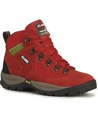 Dámská kotníková treková obuv Olang Gottardo.Tex červená 42c05afc56