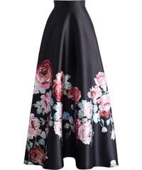 CHICWISH Dámská maxi sukně Nekonečné květy b4f80c567b
