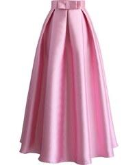 7d6450ba8cc8 CHICWISH Dámská maxi sukně Divizna růžová