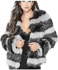 Kožich Guess Molly Faux-Fur Coat 3c8846d414