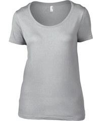 Anvil Dámské tričko s krátkým rukávem Scoop Tee 00d6ef6d17