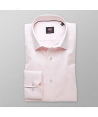 5d9d76df3776 Willsoor Pánska slim fit košeľa London (výška 176-182) 8327 v ružové farbe