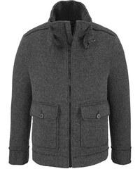 Pánske vlnené kabáty so zapínaním na zips - Glami.sk ec45fd91d68