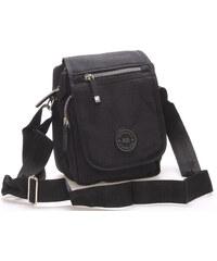9fbf1c5c63 Moderná pánska látková hnedá kabelka na doklady - New Rebels Conor ...