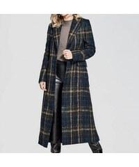 Kabát Guess by Marciano Jayla Brushed Plaid Coat c723dd71dd