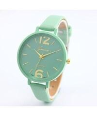 Shim Watch Geneva dámské hodinky Tyrkysové 87aee93b0d