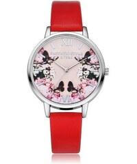 Shim Watch LVPAI Dámské hodinky Fantastic červené 0d4a5e76eb