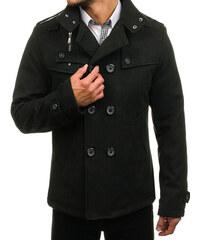 Čierny pánsky kabát - Glami.sk a67a829e6b8