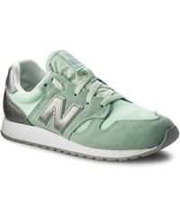Sportcipő NEW BALANCE - WL520SNB Zöld 9d6e60b159