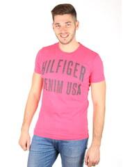 Tommy Hilfiger Ružové Pánske tričká - Glami.sk ad6a3946245
