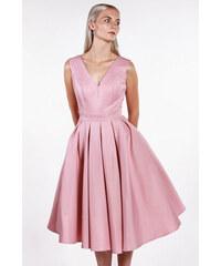 Chi-Chi London ružové midi šaty 8619c2355fb