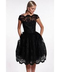 Chi-Chi London čierne čipkované šaty 9ad7ba84662