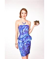 Karen Millen modré spoločenské šaty dd08d0a6469