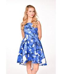 5b6f548ea311 Chi-Chi London modrobiele spoločenské šaty