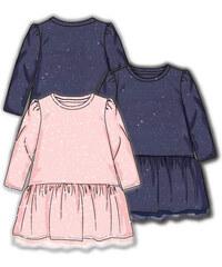 Ružové Dievčenské šaty z obchodu PiDiLiDi.sk - Glami.sk c1943bec818