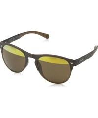 Police Herren Sonnenbrille S1955, Grün (Strip.Green Matt Brown), Einheitsgröße