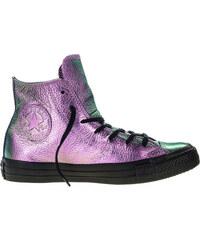 7723f091db1 Fialové Converse Chuck Taylor All Star Iridescent Leather Hi – 4