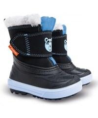 7f4b435a77db Detské mrazuvzdorné snehule DEMAR BEAR A modré