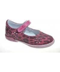 Kožené dievčenské balerínky RENBUT 33-4356 červené - Glami.sk 4de95c63e21