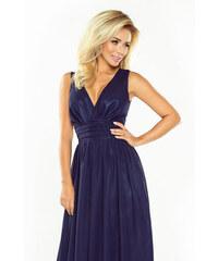 Šaty dámské NUMOCO 166 MAXI 1 navy blue 3ff84e8e7c