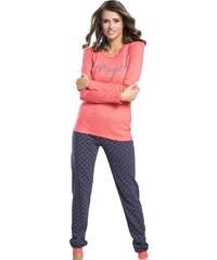 f23da9bb73a6 Italian Fashion Mariposa bavlnené dámske pyžamo s krátkym rukávom SK ...