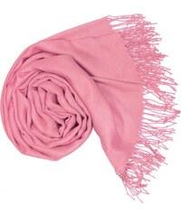 Carlo Romani Dámská Pašmína růžové barvy s nádechem do fialové P7 e978b2e605