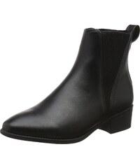 Shabbies Amsterdam Chelsea Boots Femme, Vert (Dark Olive 7002), 39 EU