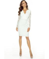 KARTES Dámské šaty Andalusie bílé 056d1f1e64