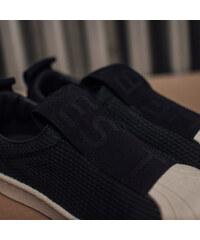 Dámske Čierne Textilné Tenisky Adidas Originals Superstar Bw3S Slipon 8813fe225ab