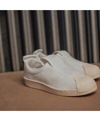 Dámske Biele Textilné Tenisky Adidas Originals Superstar Bw3S Slipon e2c965f5e5b