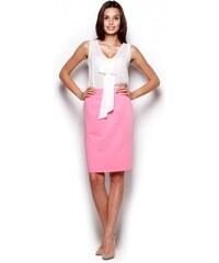 Růžové elegantní sukně - Glami.cz cb7f68f3b8