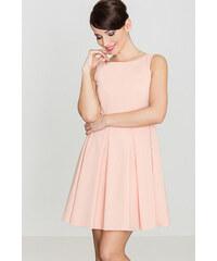 72e2042a79a1 Lenitif Dámske ružové RETRO šaty K128