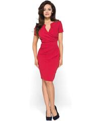 fa8d129c926e KarteS Červené elegantné šaty KM56 36