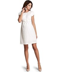 4436ffee9b92 Happymum Tehotenské šaty Lovely cream dress d932b
