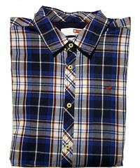 92160246793 Mustang Pánská košile Slv Shirt Kent Collar