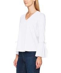 Comma, 81709114613, Blouse Femme, (White 0100), 36