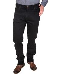 472c35c4a6c Pánské jeans WRANGLER W12109004 TEXAS STRETCH BLACK OVERDYE Černá