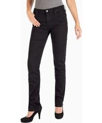 Dámské jeans LEE L301JY47 MARION STRAIGHT BLACK RINSE Černá 94ea102375