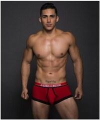 ANDREW CHRISTIAN boxerky červené Almost Naked Retro Modal Tagless Boxer  90067 7e673ab0bf
