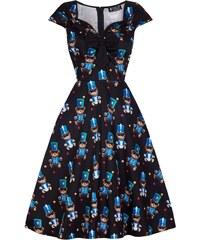 c3567746e87 Květované retro šaty s mašlí - Glami.cz