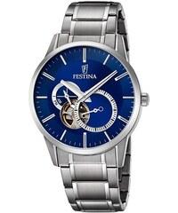 Šedé pánské hodinky z obchodu Gentleman s.Boutique - Glami.cz 758d637ea31