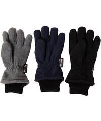 MaxiMo Zimní rukavice palčáky Maximo ANTRACIT. Detail produktu. GLAMISLEVA.  NICKEL SPORTSWEAR Teploučké flísové prstové rukavice Thinsulate 080e21dc3c